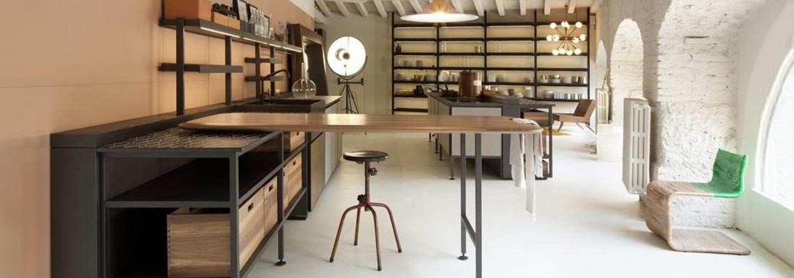 How to decorate the house with the industrial style