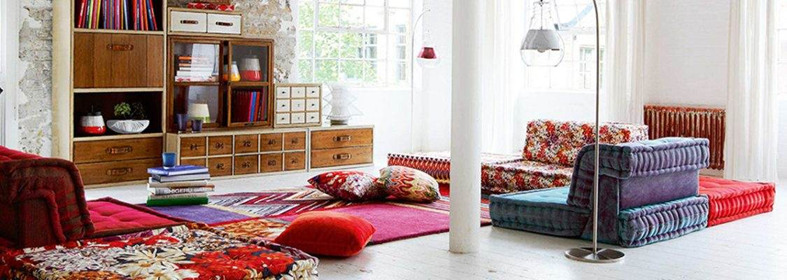 The Boho-Chic style: the modern interpretation of bohemian style.