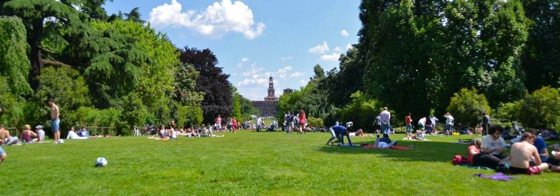 The most beautiful parks in Milan
