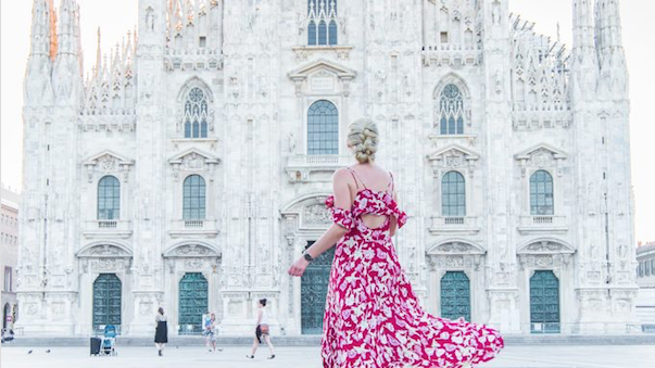 Milan seen through a traveler's eyes – The story by Caitlin Collins