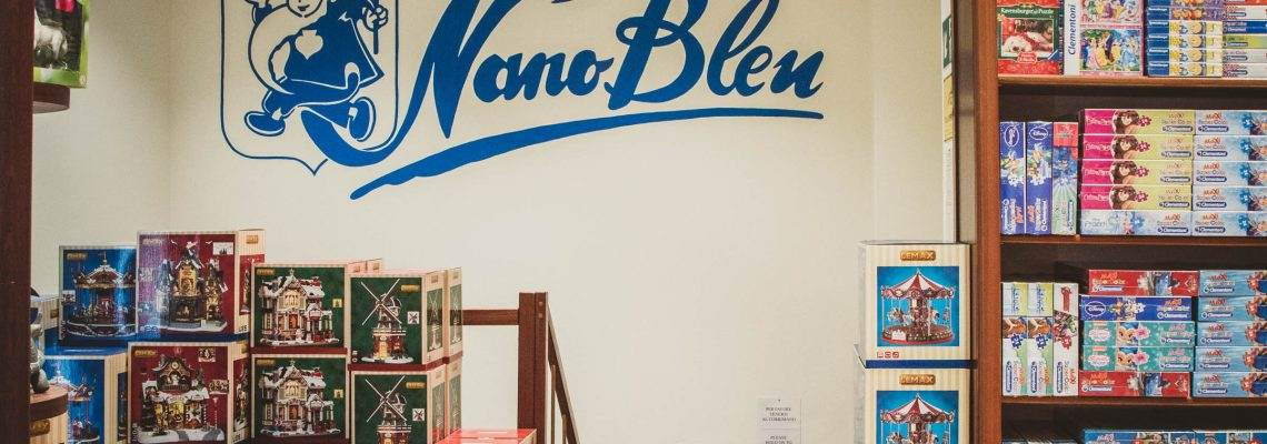 Nano Bleu: happiness for kids since 1949